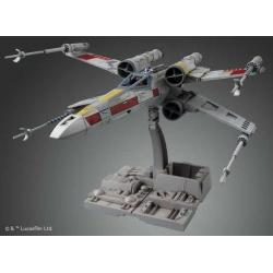 X-Wing Starfighter Maqueta Star Wars 1/72 Bandai Model Kit Maqueta Ultra detallada