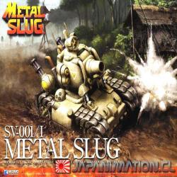Armable Metal Slug SV-001/I 1/24 Model Kit Wave Videogame Nuevo
