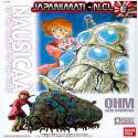 Nausicaa OHM OUMU 1/72 Ghibli Bandai Maqueta Armable Model Kit