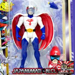 Gatchaman Tatsunoko Action Figure Collection 2 Fuerza G Bampresto Japones Original