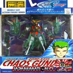 Chaos Gundam ZGMF-X24S Mobile Suit In Action MSIA Original Bandai Japones