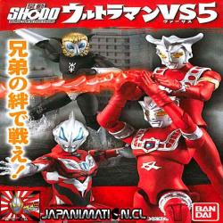 Ultraman Expansion Set Shodo VS 5 Bandai Original Japones
