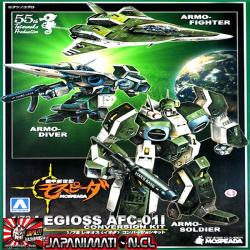 Mospeada Legioss AFC-01I Conversion Kit 1/72 Aoshima Original Japones
