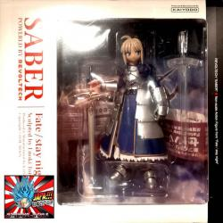 Fate Stay Night Saber Revoltech Kaiyodo Usado Japones