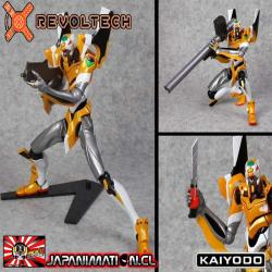 Eva-00 New Movie Edition Ver 2.0 Figura Revoltech SP Evangelion 2.0 Original Kaiyodo Japones