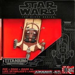 Landspeeder The Force Awakens Die-cast Star Wars Titanium Original Hasbro Takara