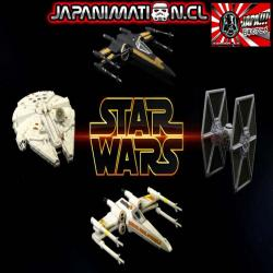 Vehicle Multi Pack Millenium Falcon The Force Awakens Die-cast Star Wars Titanium Original Hasbro Takara