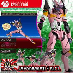 Evangelion Evolution Unit-08 Beta Utility Model WILLE Custom Revoltech Kaiyodo Original Japones