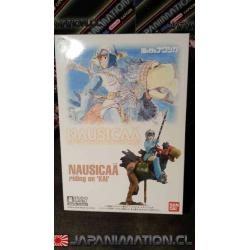 Nausicaa Riding on KAI 1/72 Ghibli Bandai Maqueta Armable Model Kit