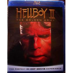 Blu-Ray Hellboy II The Golden Army 2008 Nuevo Bluray Hablado y Sub Español