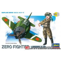 Egg Plane Series Zero Fighter TH8 Maqueta Nueva Japonesa Hasegawa