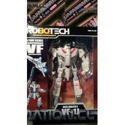 Robotech Rick Hunter VF-1J Macross 30th Anniversary Edition 1/100 Scale Action Series 1 Toynami