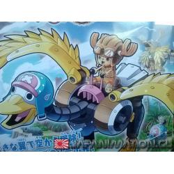 One Piece Chopper Robo No.2 Chopper Wing Maqueta Armable Bandai Nueva