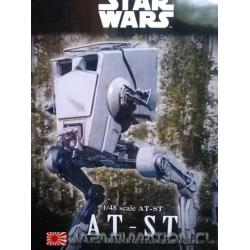 Maqueta Star Wars AT-ST 1/48 Imperial Walker Bandai Nueva Japonesa