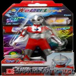 Figura Ultraman Warrior of Light 17Cm Bandai Original Japones Luz